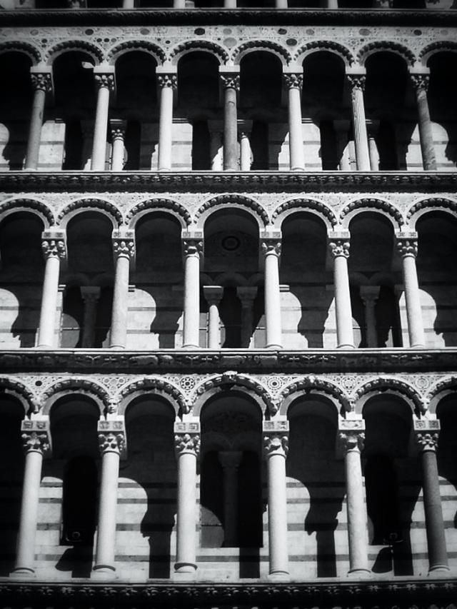 Catedral Pisa. Javier Ibarrola
